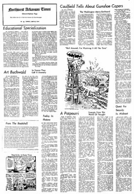Northwest Arkansas Times from Fayetteville, Arkansas on June 30, 1974 · Page 4