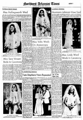 Northwest Arkansas Times from Fayetteville, Arkansas on June 30, 1974 · Page 9