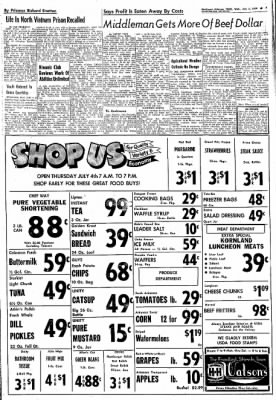 Northwest Arkansas Times from Fayetteville, Arkansas on July 3, 1974 · Page 7