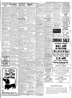 Northwest Arkansas Times from Fayetteville, Arkansas on January 5, 1952 · Page 7
