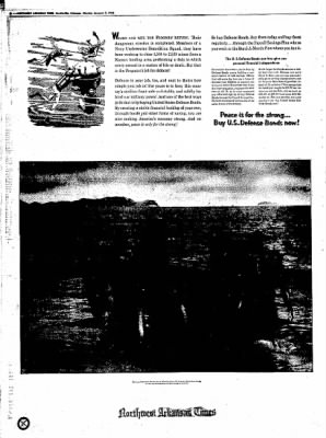 Northwest Arkansas Times from Fayetteville, Arkansas on January 7, 1952 · Page 8