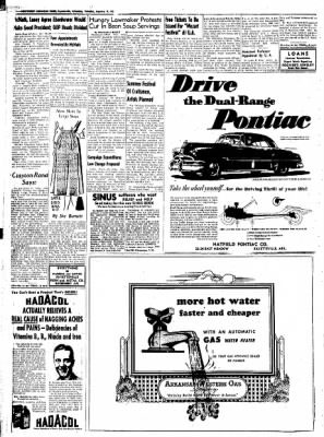 Northwest Arkansas Times from Fayetteville, Arkansas on January 8, 1952 · Page 6