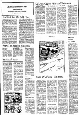 Northwest Arkansas Times from Fayetteville, Arkansas on July 21, 1974 · Page 4