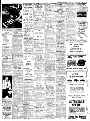 Northwest Arkansas Times from Fayetteville, Arkansas on January 11, 1952 · Page 7