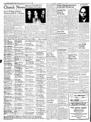 Northwest Arkansas Times from Fayetteville, Arkansas on January 12, 1952 · Page 2