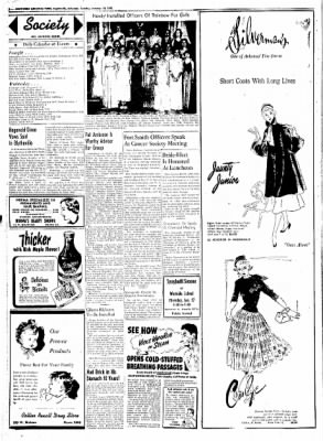 Northwest Arkansas Times from Fayetteville, Arkansas on January 15, 1952 · Page 2