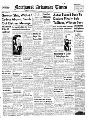 Northwest Arkansas Times from Fayetteville, Arkansas on January 18, 1952 · Page 1
