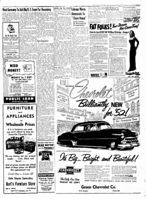 Northwest Arkansas Times from Fayetteville, Arkansas on January 18, 1952 · Page 3