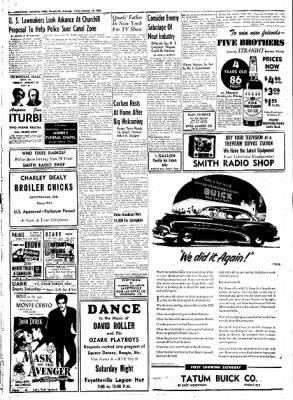 Northwest Arkansas Times from Fayetteville, Arkansas on January 18, 1952 · Page 8