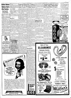 Northwest Arkansas Times from Fayetteville, Arkansas on January 21, 1952 · Page 3