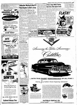 Northwest Arkansas Times from Fayetteville, Arkansas on January 24, 1952 · Page 5