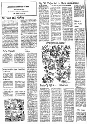 Northwest Arkansas Times from Fayetteville, Arkansas on July 25, 1974 · Page 4
