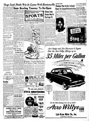 Northwest Arkansas Times from Fayetteville, Arkansas on January 25, 1952 · Page 5