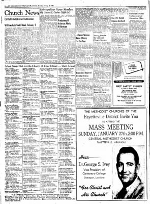 Northwest Arkansas Times from Fayetteville, Arkansas on January 26, 1952 · Page 2
