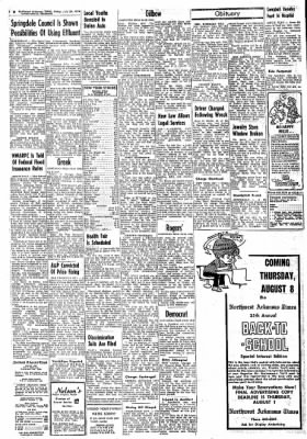 Northwest Arkansas Times from Fayetteville, Arkansas on July 26, 1974 · Page 2