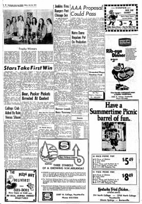 Northwest Arkansas Times from Fayetteville, Arkansas on July 26, 1974 · Page 8