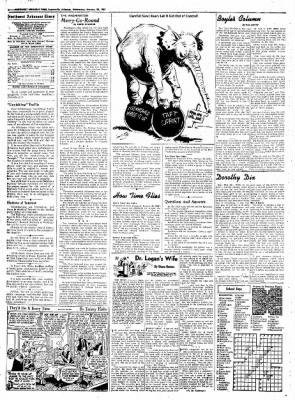 Northwest Arkansas Times from Fayetteville, Arkansas on January 30, 1952 · Page 4