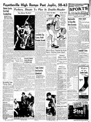 Northwest Arkansas Times from Fayetteville, Arkansas on January 30, 1952 · Page 7