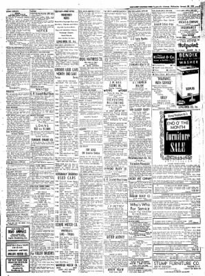Northwest Arkansas Times from Fayetteville, Arkansas on January 30, 1952 · Page 9