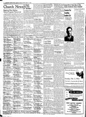 Northwest Arkansas Times from Fayetteville, Arkansas on February 2, 1952 · Page 2