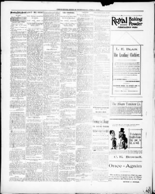 Morning Daily Herald From Albany Oregon On April 1 1891 Page 4