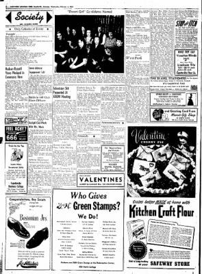 Northwest Arkansas Times from Fayetteville, Arkansas on February 6, 1952 · Page 2