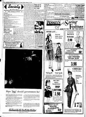 Northwest Arkansas Times from Fayetteville, Arkansas on February 11, 1952 · Page 2