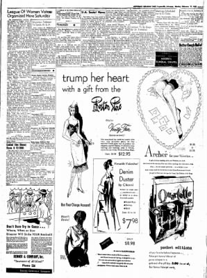 Northwest Arkansas Times from Fayetteville, Arkansas on February 11, 1952 · Page 3
