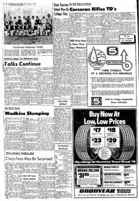 Northwest Arkansas Times from Fayetteville, Arkansas on August 1, 1974 · Page 12