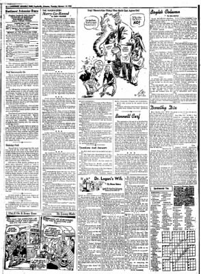 Northwest Arkansas Times from Fayetteville, Arkansas on February 14, 1952 · Page 4