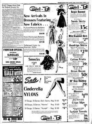 Northwest Arkansas Times from Fayetteville, Arkansas on February 14, 1952 · Page 5