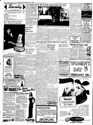 Northwest Arkansas Times from Fayetteville, Arkansas on February 15, 1952 · Page 2
