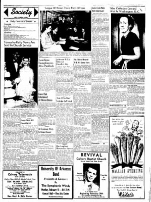 Northwest Arkansas Times from Fayetteville, Arkansas on February 16, 1952 · Page 3