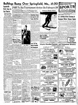 Northwest Arkansas Times from Fayetteville, Arkansas on February 16, 1952 · Page 5