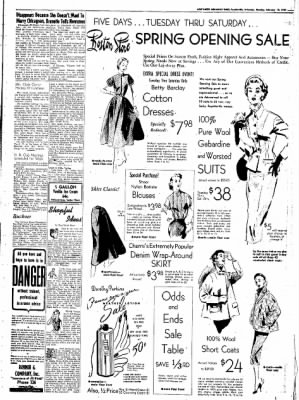 Northwest Arkansas Times from Fayetteville, Arkansas on February 18, 1952 · Page 3