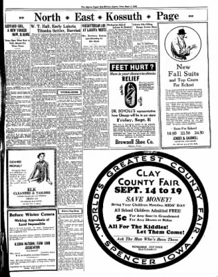 The Algona Upper Des Moines from Algona, Iowa on September 8, 1936 · Page 9