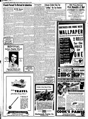 Northwest Arkansas Times from Fayetteville, Arkansas on February 25, 1952 · Page 6
