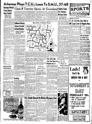 Northwest Arkansas Times from Fayetteville, Arkansas on February 25, 1952 · Page 9