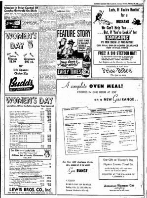 Northwest Arkansas Times from Fayetteville, Arkansas on February 28, 1952 · Page 11