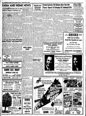 Northwest Arkansas Times from Fayetteville, Arkansas on March 1, 1952 · Page 8