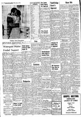 Northwest Arkansas Times from Fayetteville, Arkansas on August 9, 1974 · Page 2