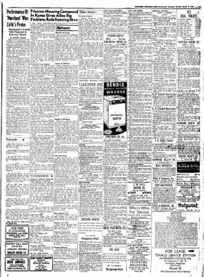 Northwest Arkansas Times from Fayetteville, Arkansas on March 3, 1952 · Page 9