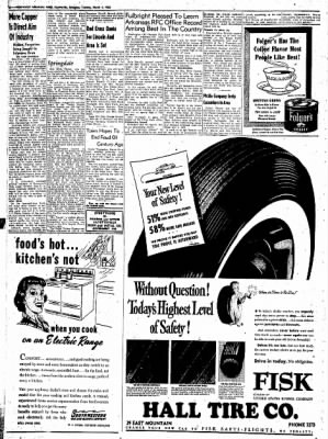 Northwest Arkansas Times from Fayetteville, Arkansas on March 4, 1952 · Page 6