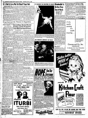Northwest Arkansas Times from Fayetteville, Arkansas on March 5, 1952 · Page 6