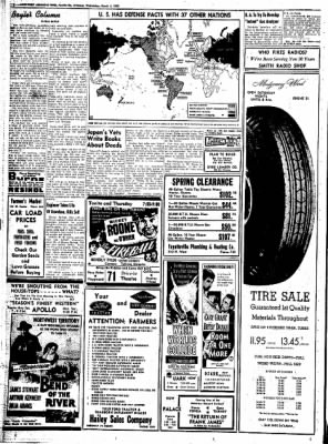 Northwest Arkansas Times from Fayetteville, Arkansas on March 5, 1952 · Page 12