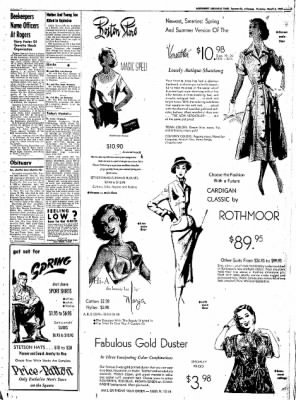 Northwest Arkansas Times from Fayetteville, Arkansas on March 6, 1952 · Page 3