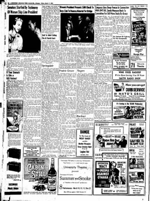 Northwest Arkansas Times from Fayetteville, Arkansas on March 7, 1952 · Page 8