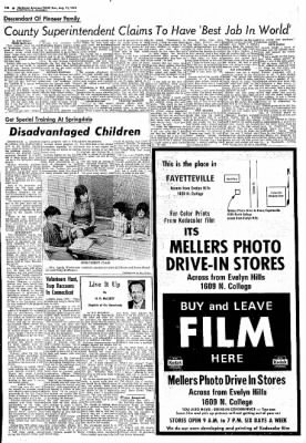 Northwest Arkansas Times from Fayetteville, Arkansas on August 11, 1974 · Page 24