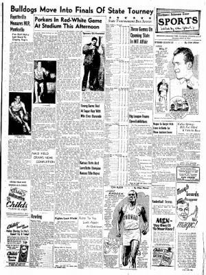 Northwest Arkansas Times from Fayetteville, Arkansas on March 8, 1952 · Page 7