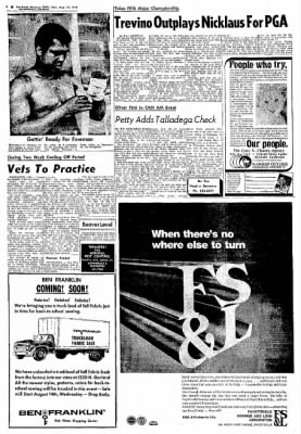 Northwest Arkansas Times from Fayetteville, Arkansas on August 12, 1974 · Page 8